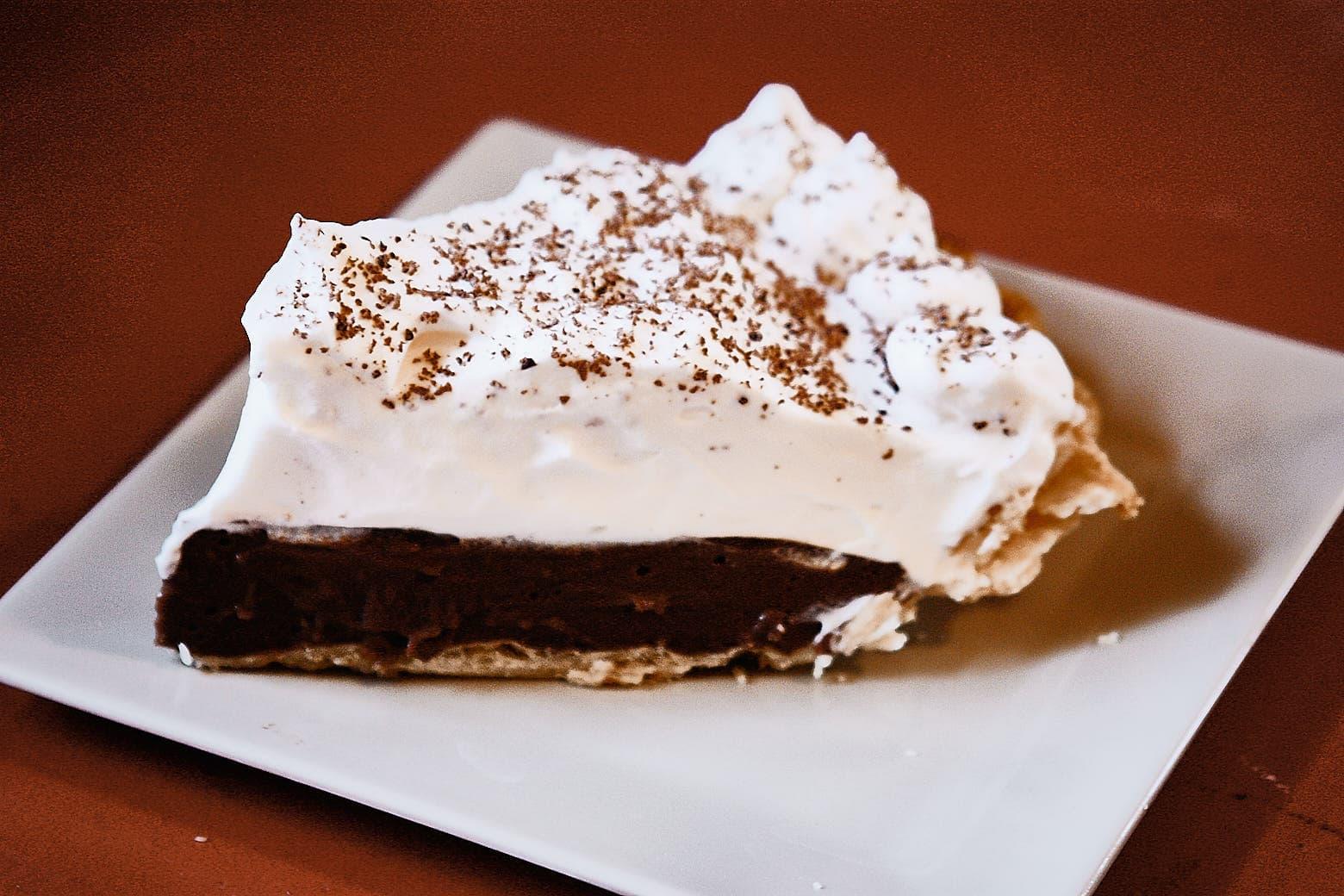 Dairy Free Chocolate Cream Pie