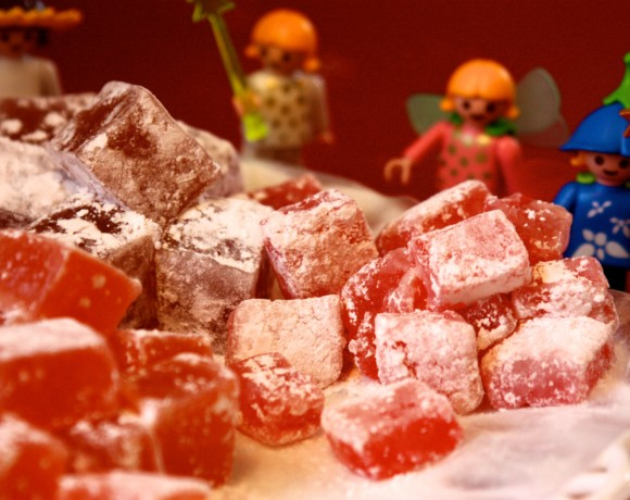 Turkish Delight…the Food of Fairies.