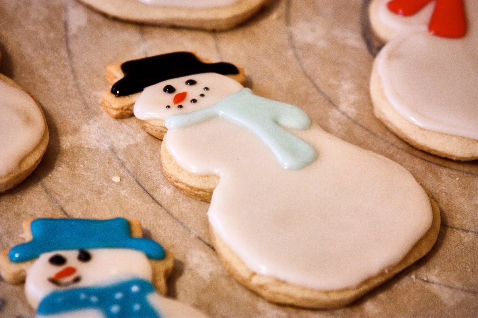 Dairy Free Egg Free Sugar Cookies for Santa!  | SpeedbumpKitchen.com