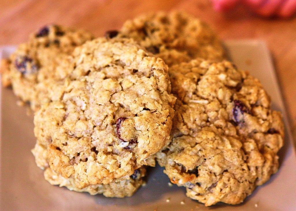 Dairy-Free Chewy Maple Oatmeal Raisin Cookies #DairyFree #EggFree #Vegan | speedbumpkitchen.com
