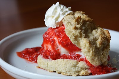 Strawberry Shortcake (for breakfast!)
