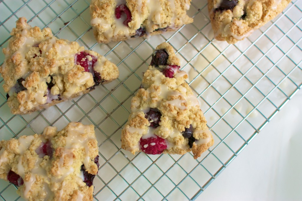Red, White and Blue Scones - Speedbump Kitchen