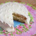 Egg Nog Cake–Easy Bake Oven Style