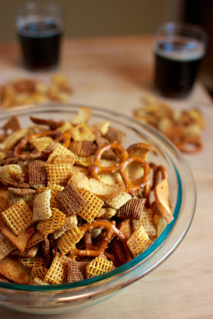 Chex Mix Recipe: Dairy/Egg/Nut/Fish-Free, easy to make gluten-free, vegan too! | speedbumpkitchen.com