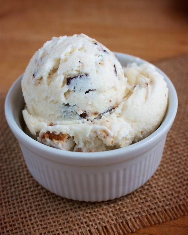 Chubby Hubby Ice Cream Recipe: Dairy, Egg & Nut Free! | speedbumpkitchen.com