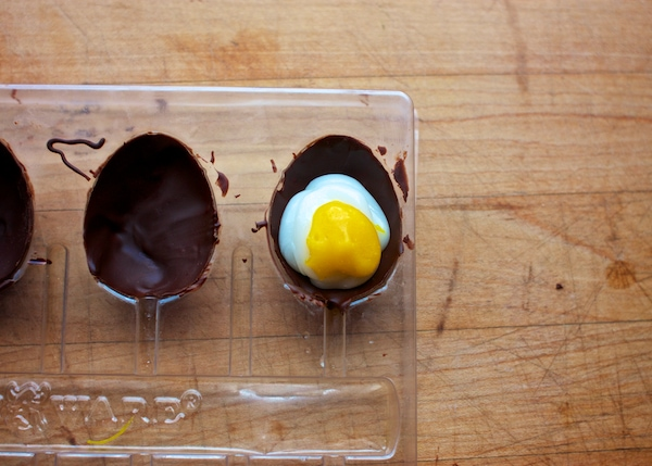 Homemade Cadbury Creme Eggs, Dairy & Egg-Free, Vegan | speedbumpkitchen.com