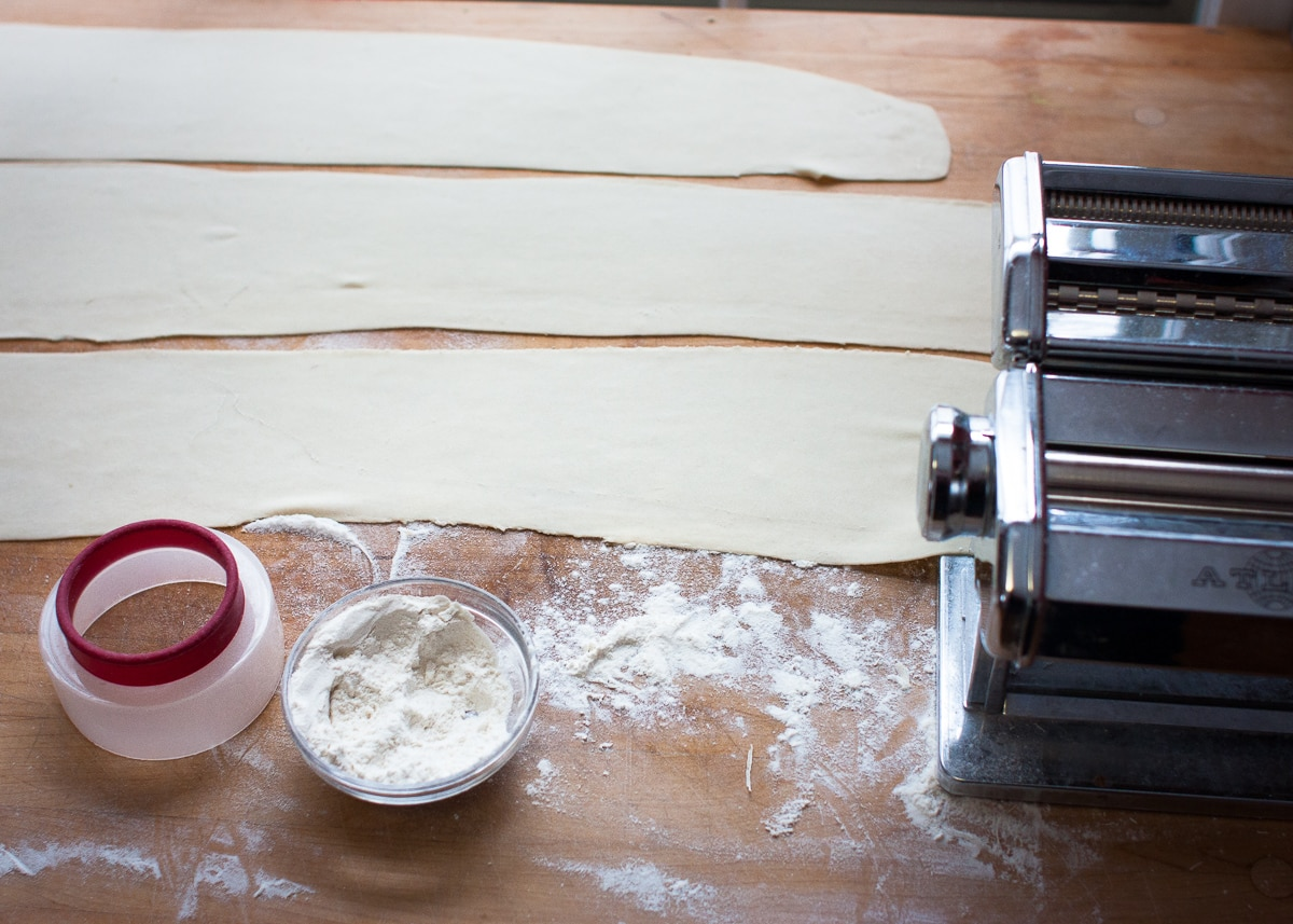 Homemade Wrappers for Dumplings & Potstickers #EggFree #DairyFree | speedbumpkitchen.com